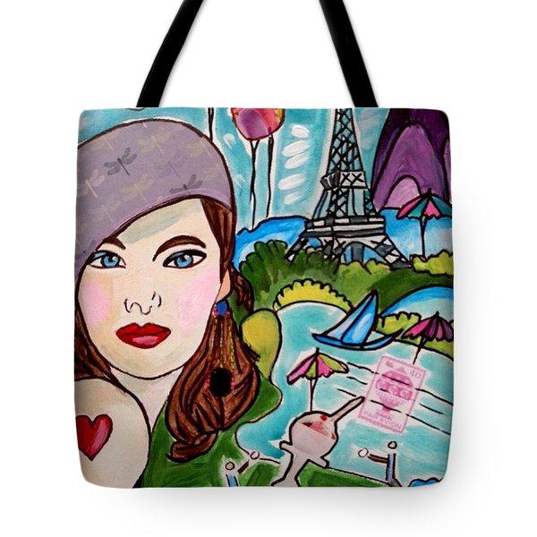 Remembering Paris Tote Bag