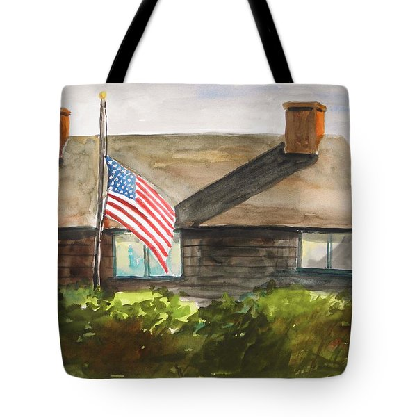 Remembering Patriot Day Tote Bag by John Williams