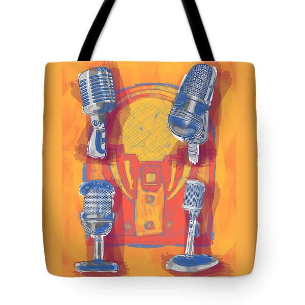Remembering Radio Tote Bag