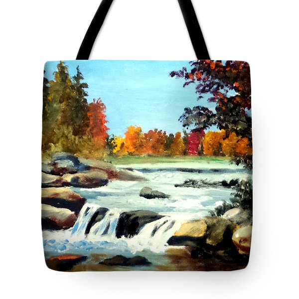 Remembering The Little Broad River Tote Bag