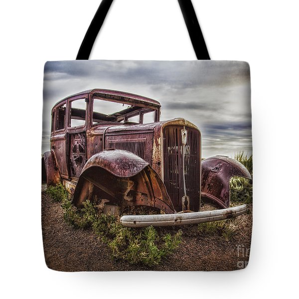 Tote Bag featuring the photograph Remembering U.s. Route 66  ... by Chuck Caramella