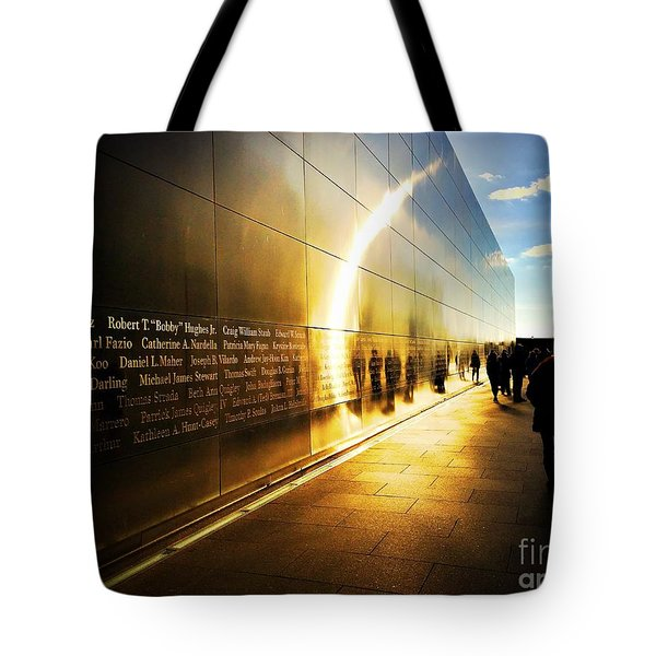Remembrance At Empty Sky Tote Bag