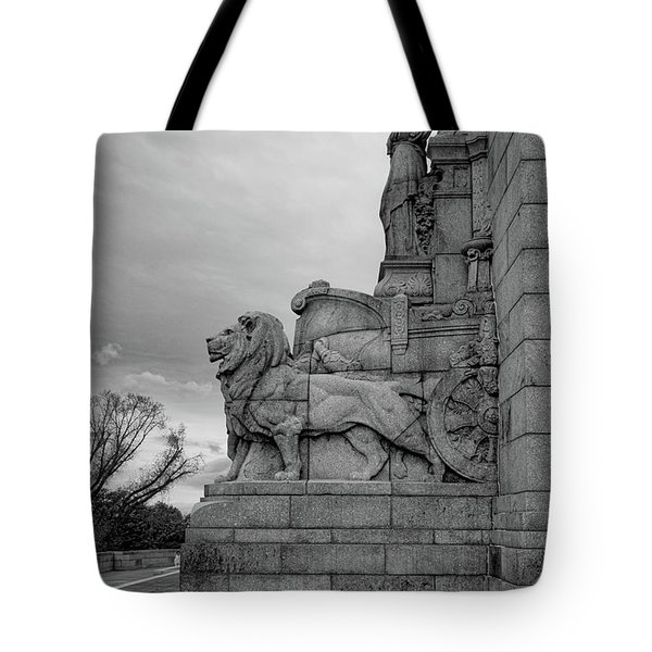 Remembrance Lions Tote Bag