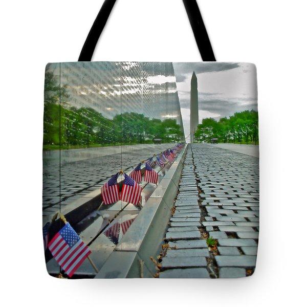 Remembrance Of Patriotism Tote Bag
