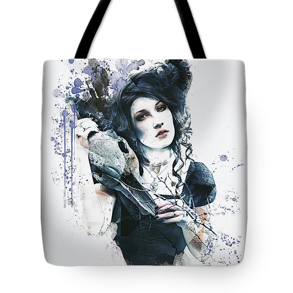 Tote Bag featuring the digital art Reminders by Galen Valle