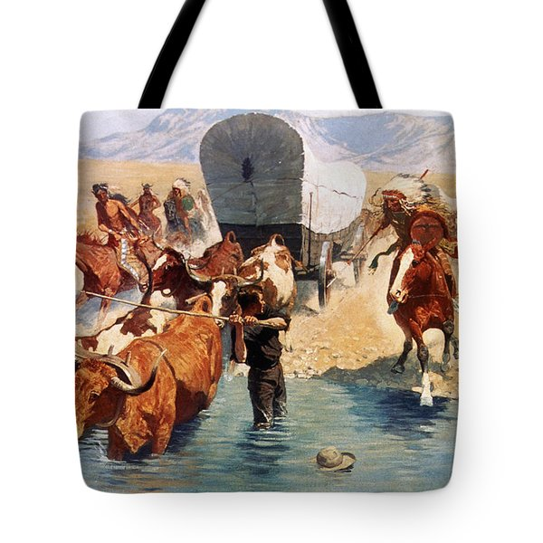 Remington: The Emigrants Tote Bag by Granger