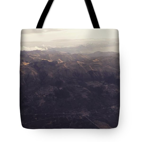 Cusco From Above Tote Bag