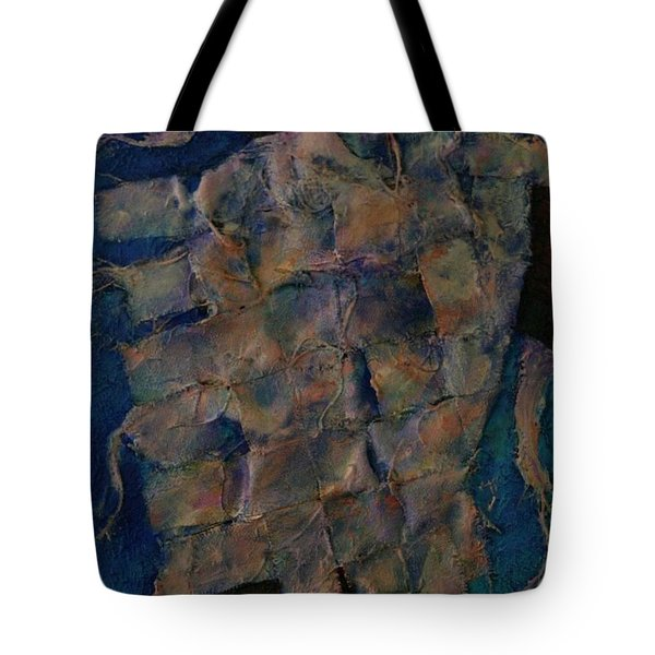Tote Bag featuring the painting Remnant by Dorothy Allston Rogers