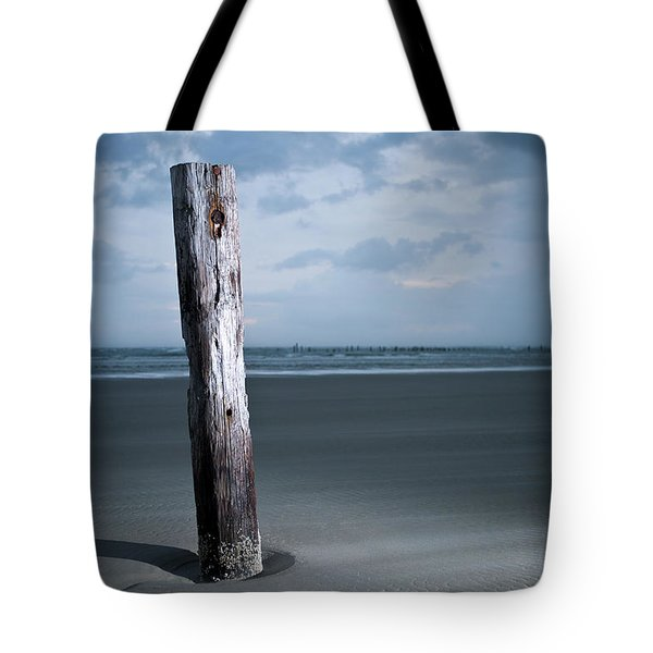 Remnant Of The Past On Outer Banks Tote Bag
