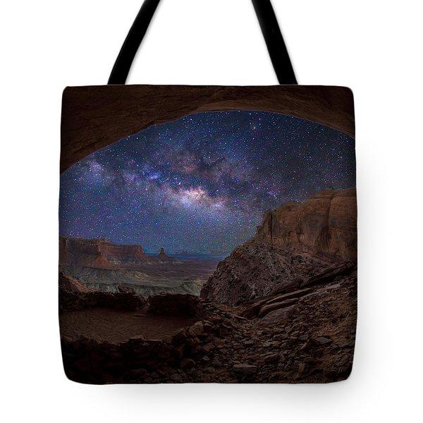 Remnants     -false Kiva Tote Bag