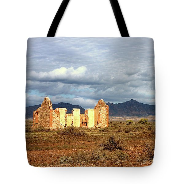 Tote Bag featuring the photograph Remnants Of Life by Marion Cullen