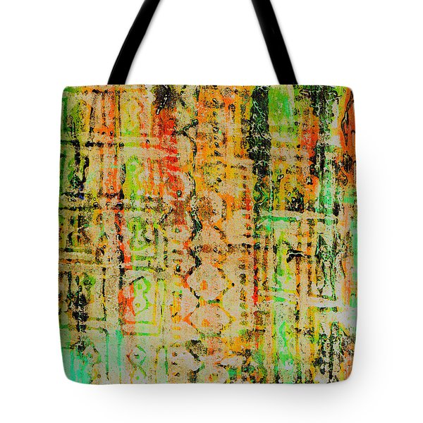 Remnants Of The Homeland Tote Bag by Wayne Potrafka