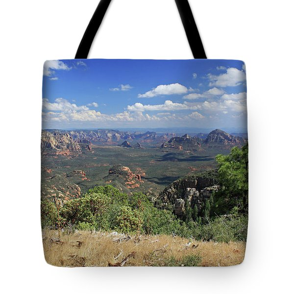 Remote Vista Tote Bag