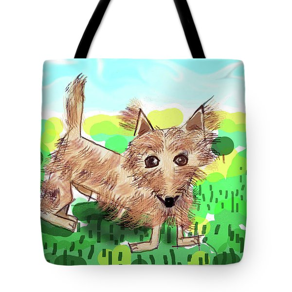 Remy, Laird Of The Cairn Tote Bag