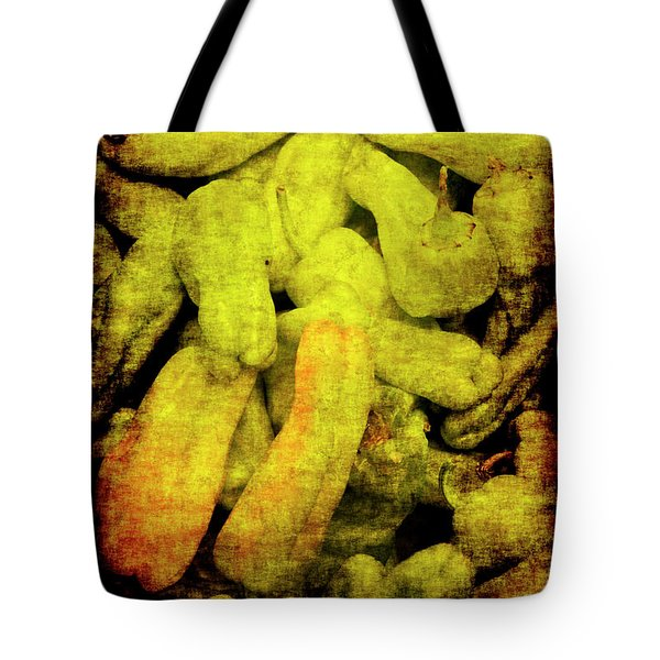 Renaissance Green Peppers Tote Bag