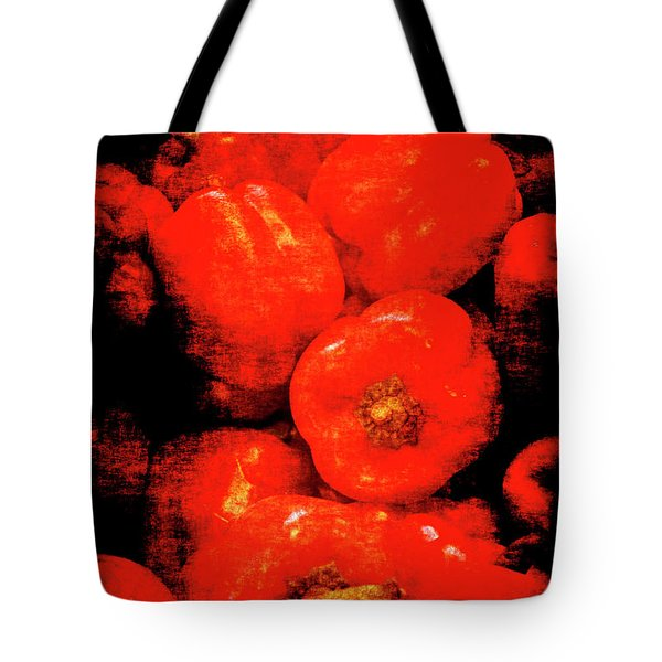 Renaissance Red Peppers Tote Bag
