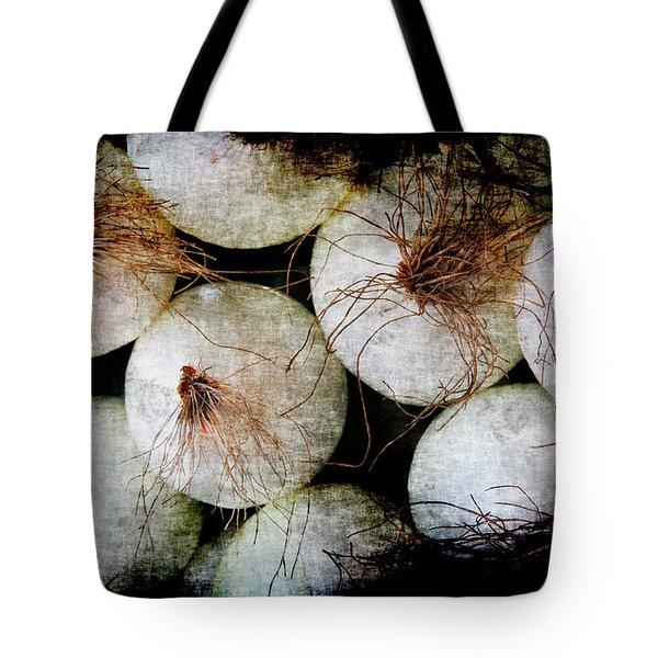 Renaissance White Onions Tote Bag