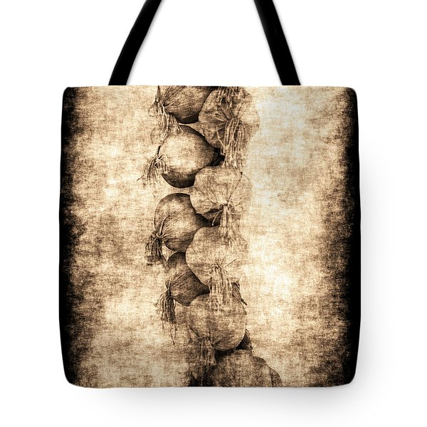 Tote Bag featuring the photograph Renasiaance Garlic by Jennifer Wright