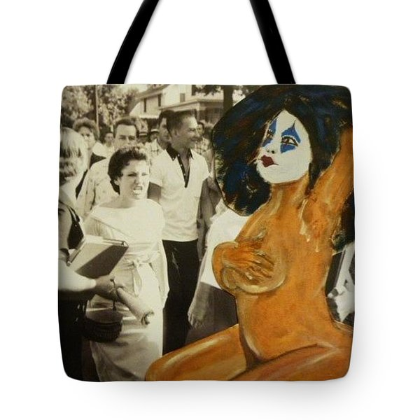Renee Segregationist Tote Bag by Deedee Williams