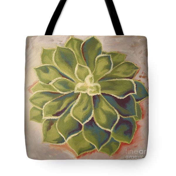 Tote Bag featuring the painting Renewed by Erin Fickert-Rowland