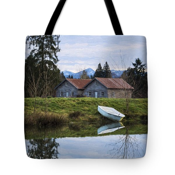 Renewed Hope - Hope Valley Art Tote Bag by Jordan Blackstone
