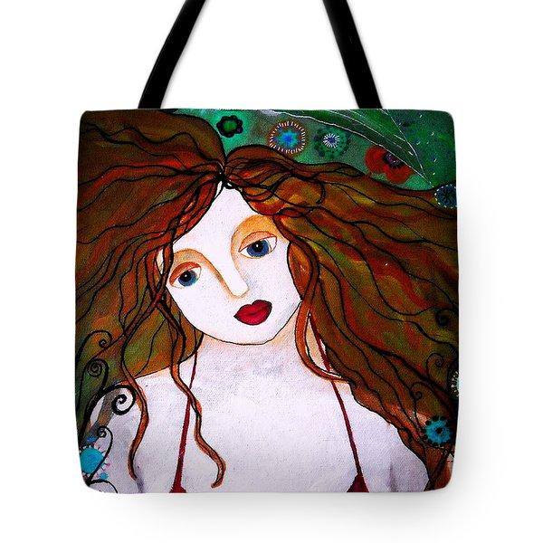 Rennaissance Mermaid Tote Bag by Pristine Cartera Turkus