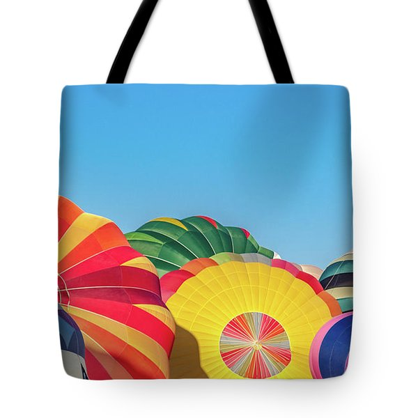 Tote Bag featuring the photograph Reno Balloon Races by Bill Gallagher