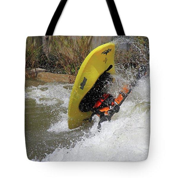 Whitewater Kayak Tote Bags   Fine Art America