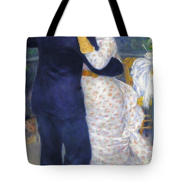 Renoir: Dancing, 1883 Tote Bag by Granger