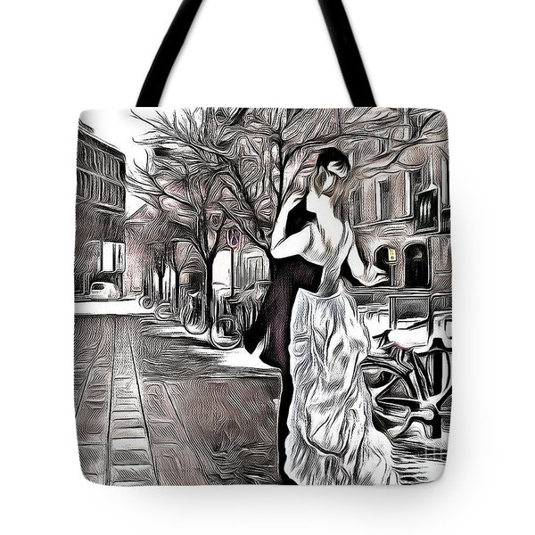 Renoir In Stokholm Collage Renoir Tote Bag
