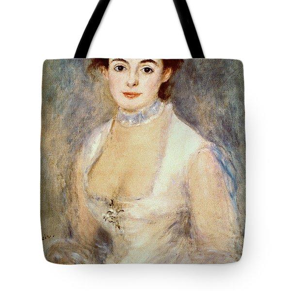 Renoir: Madame Henriot Tote Bag by Granger