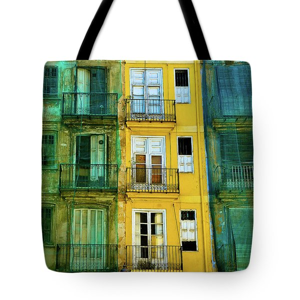 Tote Bag featuring the photograph Renovation  by Harry Spitz