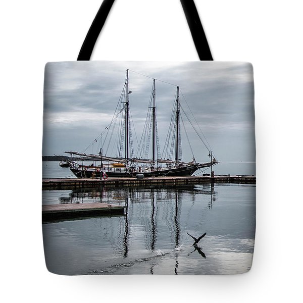 Rent Reflection Tote Bag