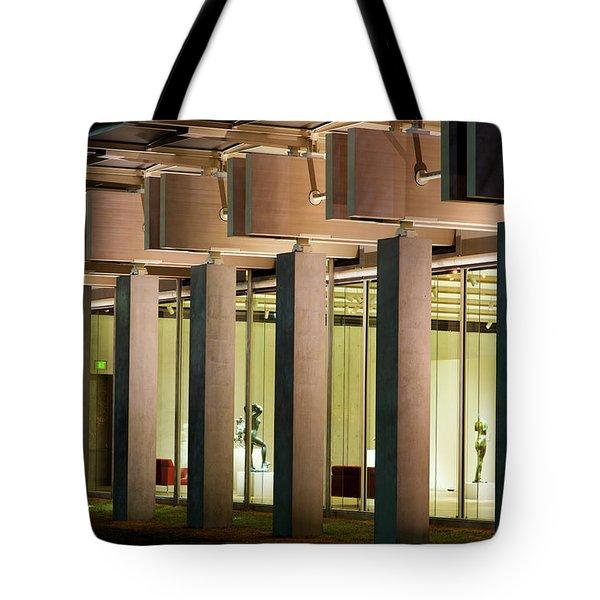 Renzo Piano Building Kimball Museum Tote Bag