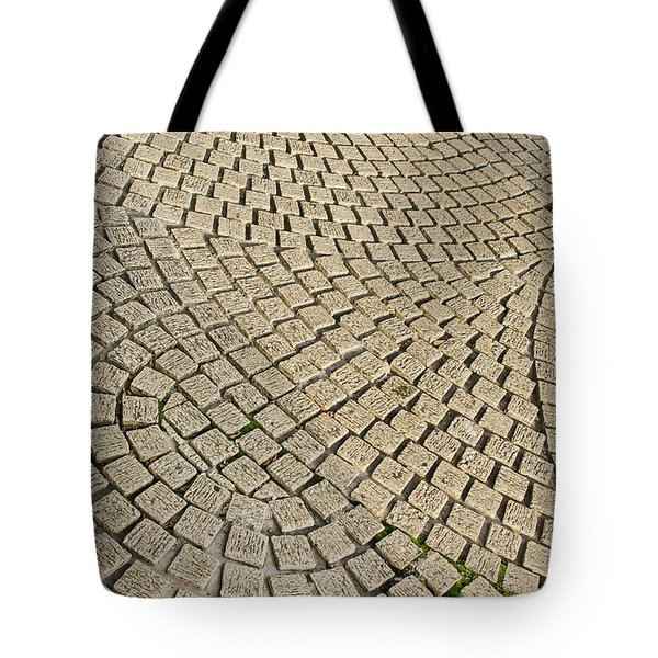 Tote Bag featuring the photograph Repetitions by Wanda Krack