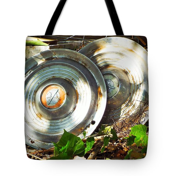 Replaced With Spinners Tote Bag