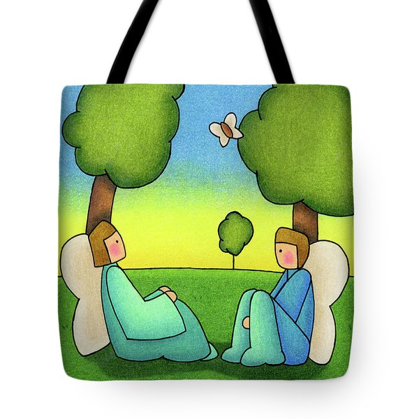 Repose Tote Bag by Sarah Batalka