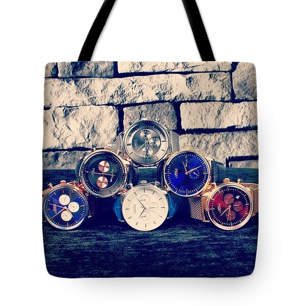 Watches Collection Tote Bag