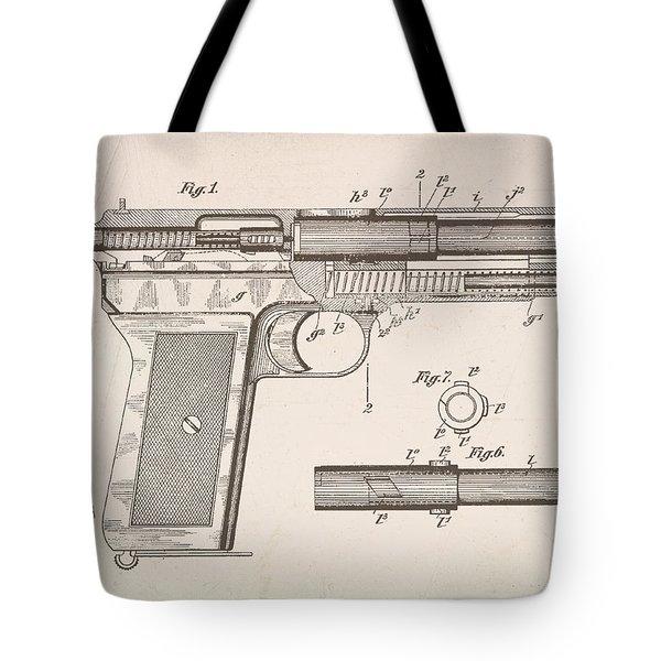 Repro .45 Patent Cutaway Tote Bag