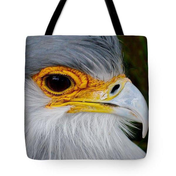 Reptile Hunter - Secretary Bird Tote Bag