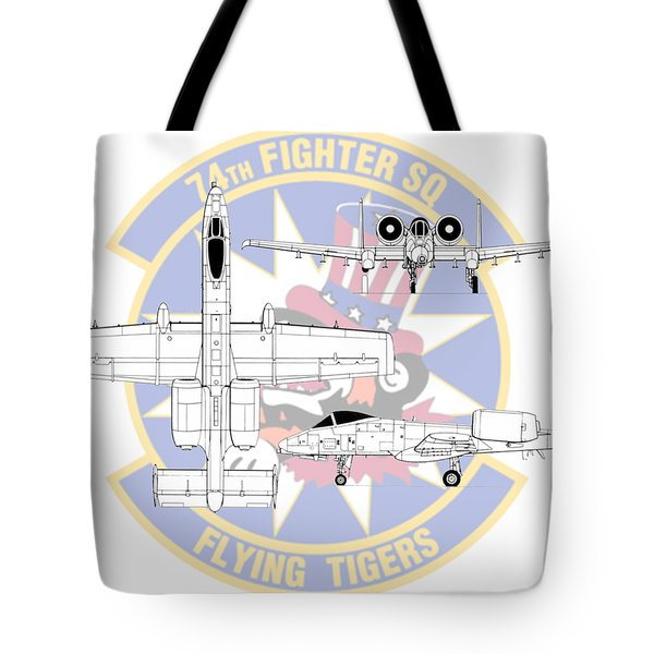 Republic A-10 Thunderbolt II Tote Bag