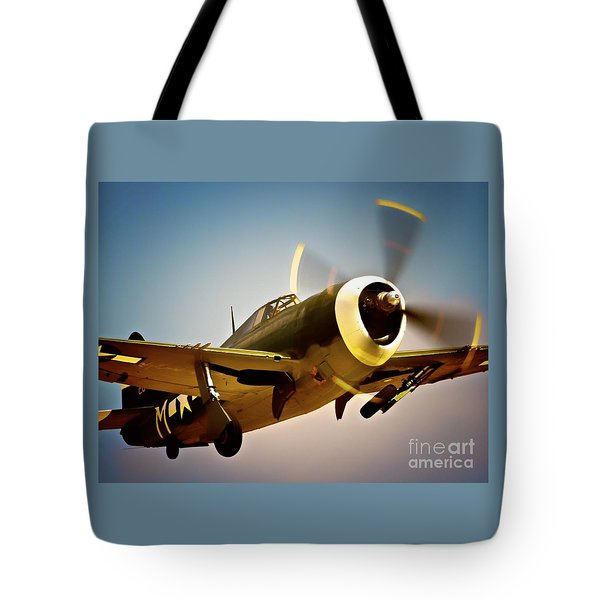 Republic P-47 Thunderbolt Thunder Jug Tote Bag