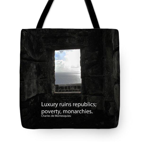 Republics And Monarchies Tote Bag by Ian  MacDonald