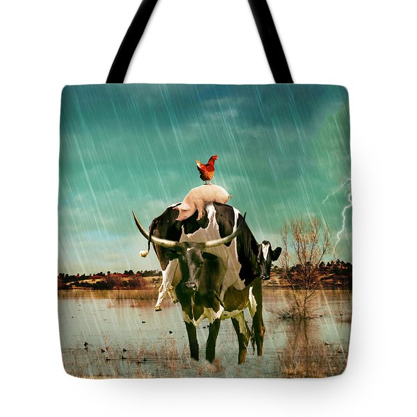 Rescue Tote Bag by James Bethanis