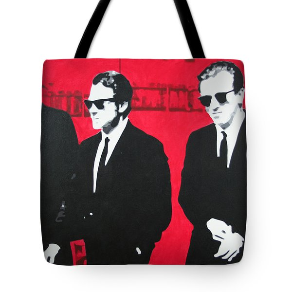 Reservoir Dogs 2013 Tote Bag by Luis Ludzska