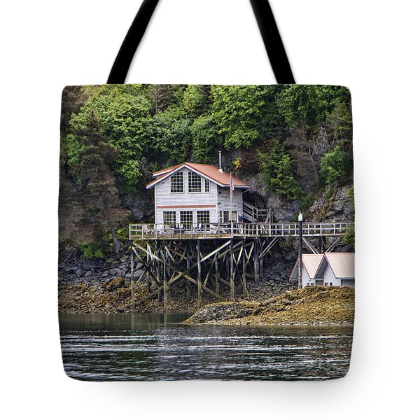 Residence In Halibut Cove Tote Bag