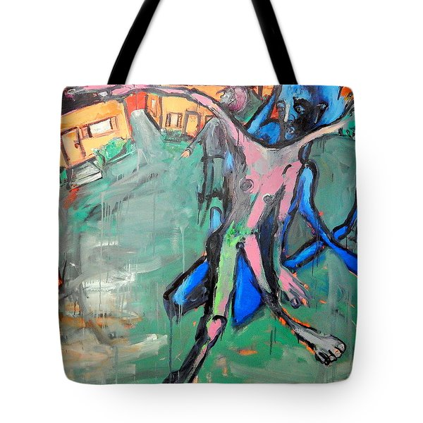 Residential Sweep Tote Bag by Kenneth Agnello