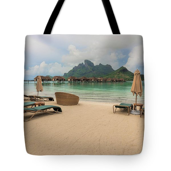 Tote Bag featuring the photograph Resort Life by Sharon Jones
