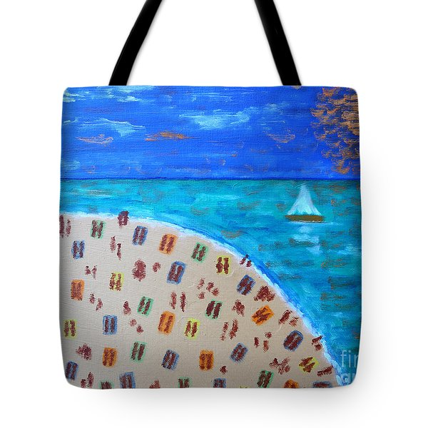 Resort Tote Bag by Patrick J Murphy