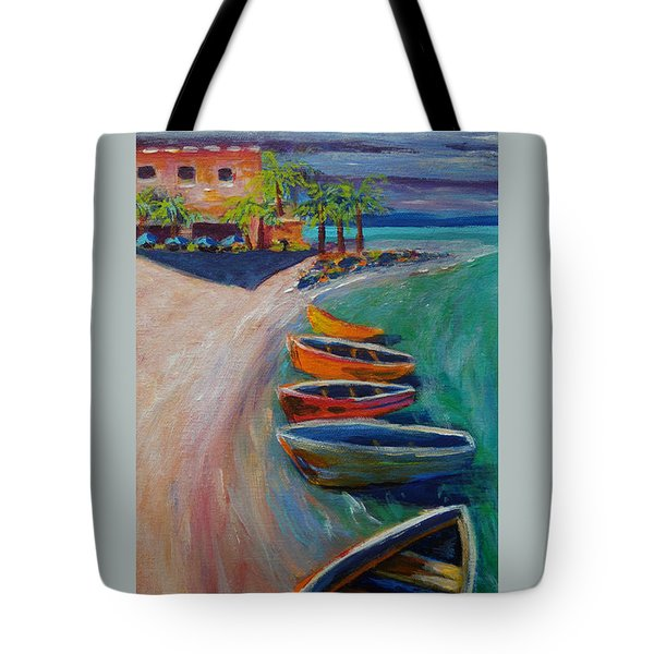 Resort Time Tote Bag